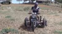 印度阿三开挂集锦 摩托车拖拉机