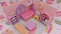 【爱茉莉兒】3D拼图粉色少女屋