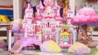 巴啦啦小魔仙飞越彩灵堡 公主彩丽欢乐城堡手工玩具