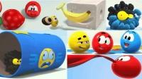 色彩世界水果气球色彩英语儿童英语ABC少儿英语ABC