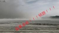 过年自驾游新疆盐湖风景区遭遇盐暴 风起盐涌