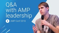 Q&A with the AMP leadership (AMP Conf 2018)