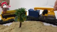 托马斯火车轨道 汽车玩具变形警车珀利 救护车安巴 儿童玩具故事