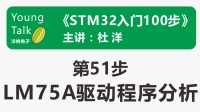 STM32入门100步(第51步)LM75A驱动程序分析