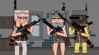 动画版绝地求生, 带你爆笑吃鸡——双排队友竟是李云龙, 团长别开枪