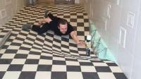 看似崎岖不平的瓷砖地板, 专为熊孩子设计, 还得了年度大奖