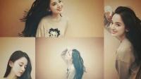 古力娜扎晒美照引称赞 长发轻盈笑容甜美