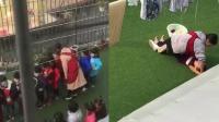 幼儿园老师涉嫌虐童 施暴期间露诡异笑容