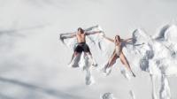 -10℃在雪地游泳!