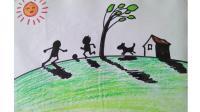 一年级美术下册第1课影子的游戏窦老师教画画