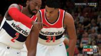 【布鲁】NBA2K18生涯模式:奇才组建三巨头!白边联手沃尔比尔!(62)
