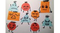 彩纸手工表情卡通窦老师教画画