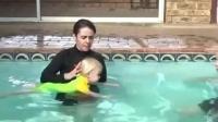 如何在保证安全的情况下, 教宝宝游泳, 父母必看