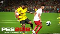 【LRTINTER】实况足球2018 #021 联机对战 德甲25轮 莱比锡红牛vs多特蒙德 PES2018