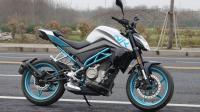 「呆子测评」国产弯道小王子春风250NK, 骑士网摩托车测评