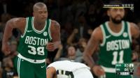 【布鲁】NBA2K18生涯模式:凯尔特人豪取赛季70胜!奥尼尔vs霍华德(63)
