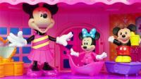 太好玩了, 米奇妙妙屋米妮的大房子玩具!