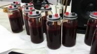 艺术家用自己的血液发电, 整整用了4.5升