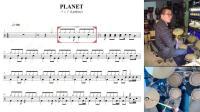 01凯文先生《PLANET》架子鼓教学爵士鼓教学零基础自学速成