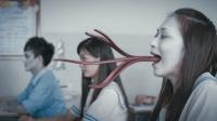 一部经典的国产恐怖片, 美女教师被学生折腾的分不清鬼和人