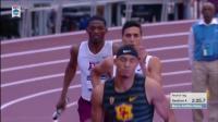 【4x400米室内世界纪录】美国大学生 3: 00.77【2018 NCAA】