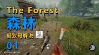 极致哥《森林》试玩, 据说这是一个恐怖游戏, 我一点不慌!