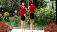 燕子青春姐妹广场舞双人舞《我在红尘中遇见你》制作: 燕子
