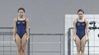 女双十米台中国第三跳