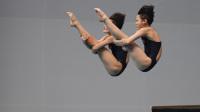 中国组合第二跳完美发挥