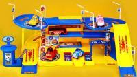 变形警车珀利停车场儿童玩具