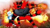 我的世界《神奇宝贝世代冒险》03 一个球抓到炽焰咆哮虎打败了第一个道馆MEGA 爆笑精灵宝可梦