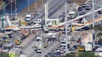 美国佛罗里达一过街天桥坍塌 10人死亡