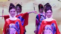 天坛周末10877 模特表演《唱脸谱》秋之韵模特队