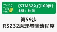 STM32入门100步(第59步)RS232原理与驱动程序