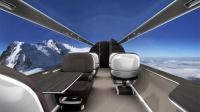 世界上最刺激的飞机, 全部透明, 网友: 免费也不敢坐!