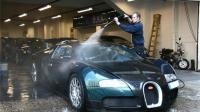 世界上最贵的洗车工, 一次五万, 不洗低于百万豪车!