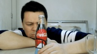 试喝130周年纪念限量版关西民俗风情可口可乐, 16块钱一瓶