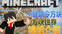 【Minecraft我的世界】一键命令方块 - 方块世界【原版1.8】