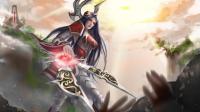 《英雄联盟》新版刀妹原画公布 数十把剑刃环绕仙气十足
