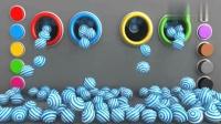 益智动画, 彩虹糖豆中的惊喜蛋教宝宝趣味学习数字