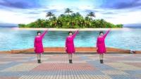 随风飘舞广场舞《脚下的路》基督教舞蹈 演示: 蓝天白云姊妹制作: 随风飘舞