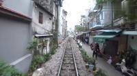 第一视角感受越南铁路, 实拍河内到宁平的火车