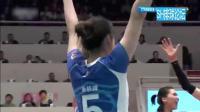 2017~2018中国女排超级联赛(第29轮)(第Ⅳ阶段)(决赛Ⅱ)(第148场)(天津渤海银行VS上海光明优倍)(C5版)