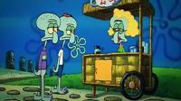 海绵宝宝: 章鱼哥城会玩, 用鼓风机帮章鱼村的居民整容!