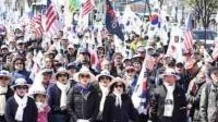 韩国万民请愿放朴槿惠