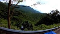 2017 12月海南骑行  第六集环岛中线  三亚—五指山   三亚大东海日出美景, 五指山热带雨林气候