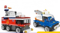 熊出没的小猪佩奇拆汽车总动员叉车玩具 超级飞侠和猪猪侠一起来点赞