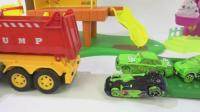 汽车总动员玩具车试玩, 婴幼儿宝宝玩具游戏视频