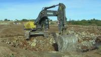沃尔沃挖掘机已经没落了, 混的连小松都不如