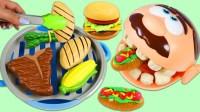 小伶玩具全集日本食玩汉堡披萨